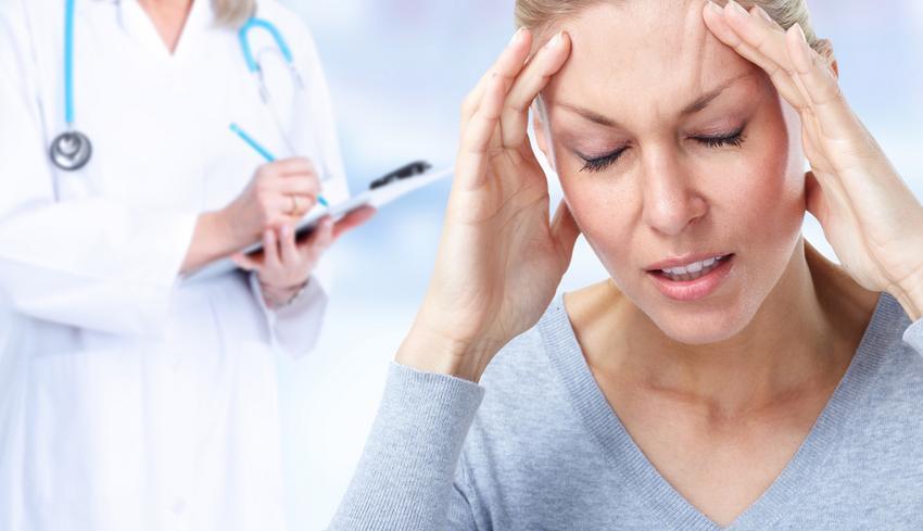 magas vérnyomással, fejfájással