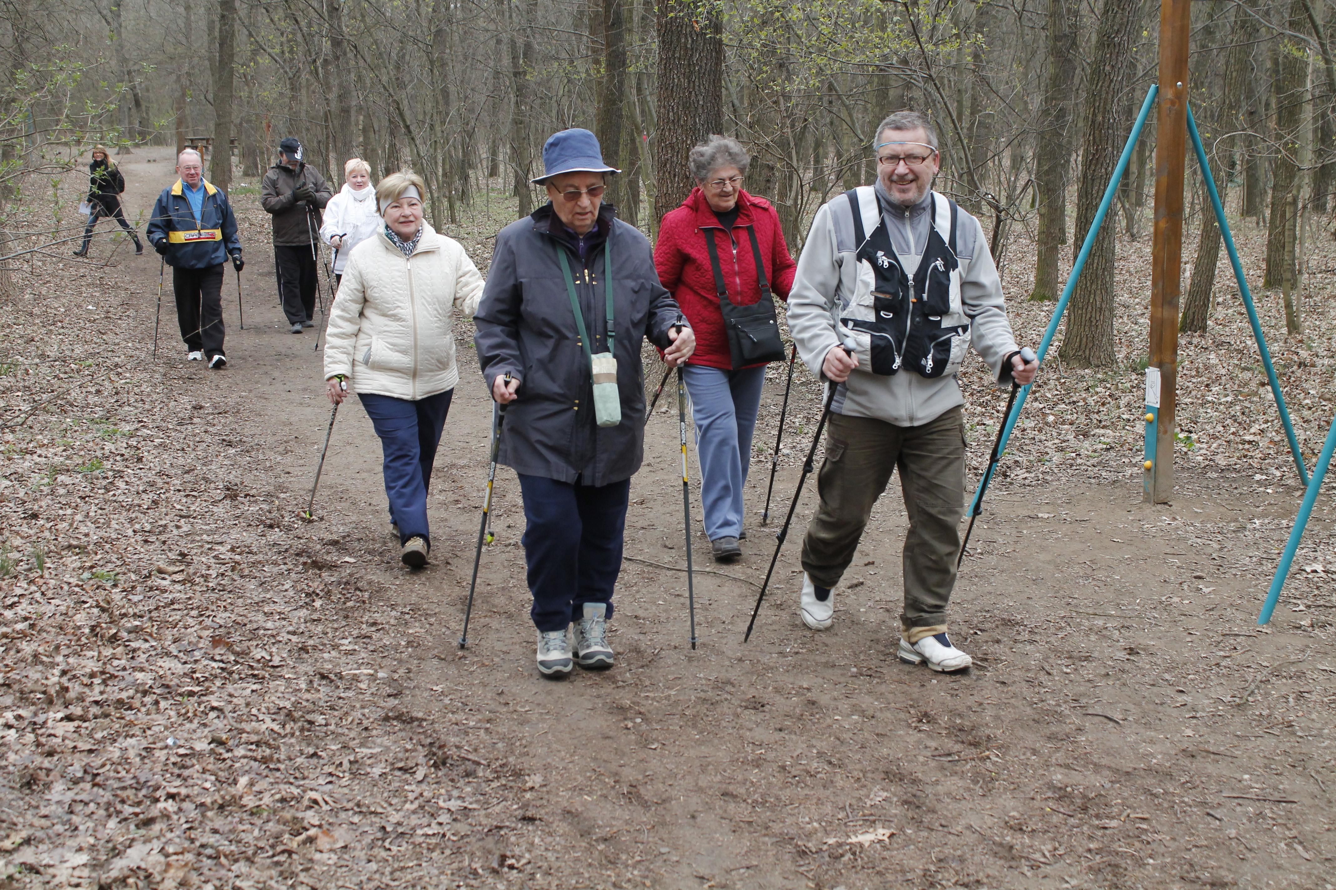 Nordic walking és magas vérnyomás