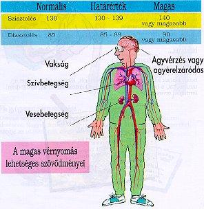 vér magas vérnyomásban hogyan osztályozzák a magas vérnyomást