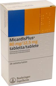 MICARDIS gyógyszer leírása, hatása, mellékhatásai