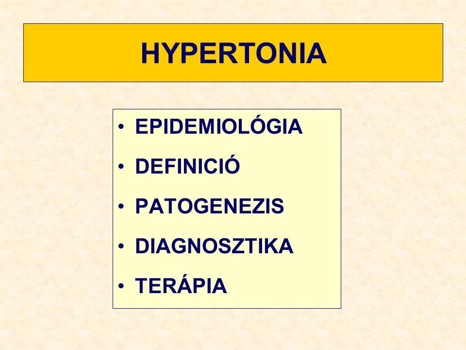 klinikai hipertónia