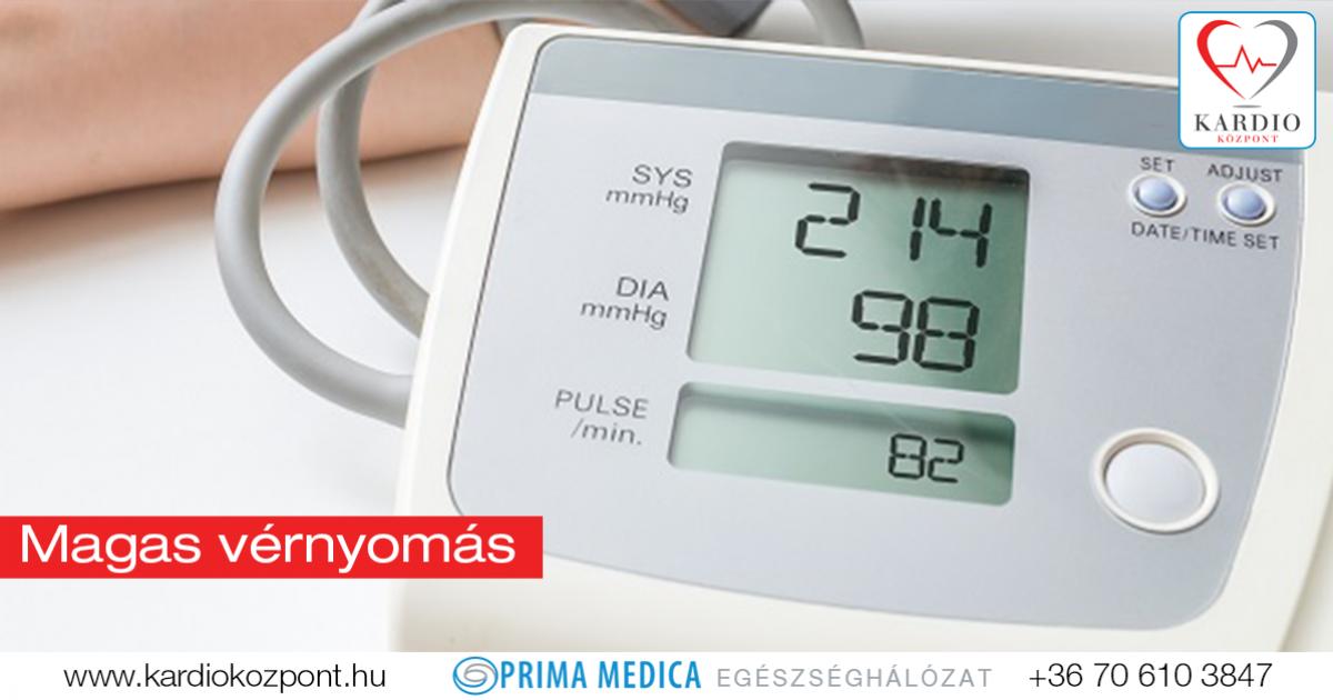 vérellátás magas vérnyomás esetén tachycardia hipertónia életmód