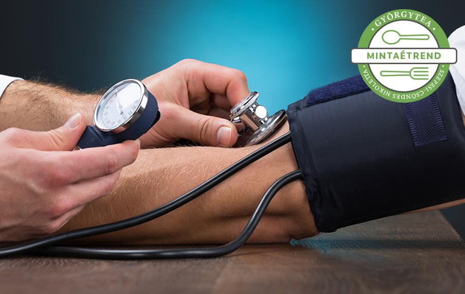 magas vérnyomás kezelésére szolgáló receptek