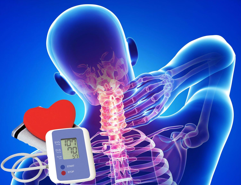 az osteochondrosis és a magas vérnyomás közötti kapcsolat
