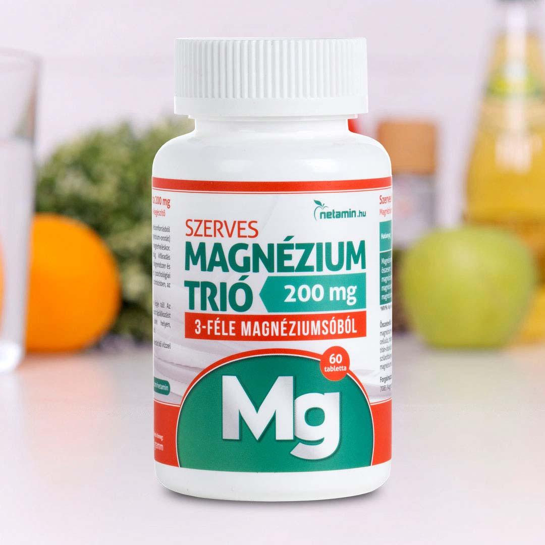 magas vérnyomású magnézium készítmények ag-3 magas vérnyomás esetén