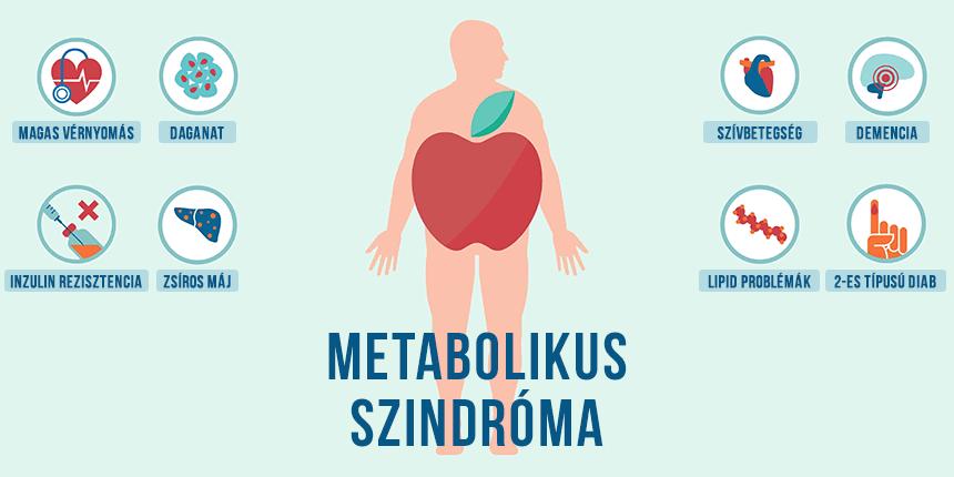 Metabolikus szindróma: okok, tünetek, kezelés - HáziPatika
