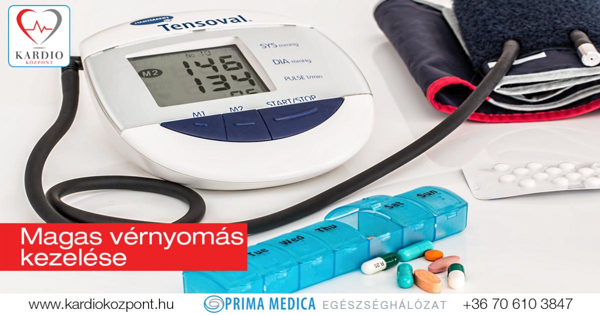 magas vérnyomás kezelésére szolgáló kezelések