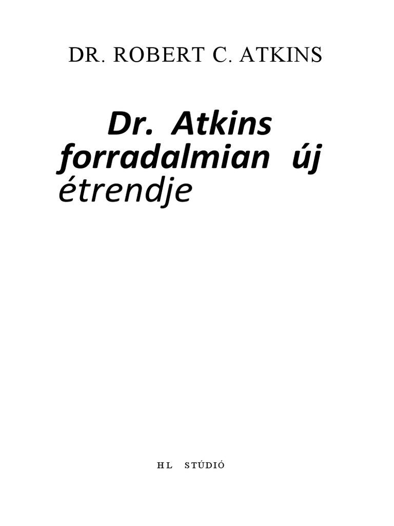 magas vérnyomás kezelés atkins diéta tonik hipertónia esetén